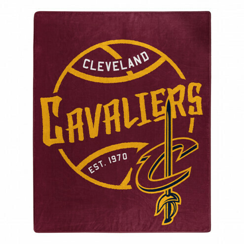 Cleveland Cavaliers Basketball Blanket