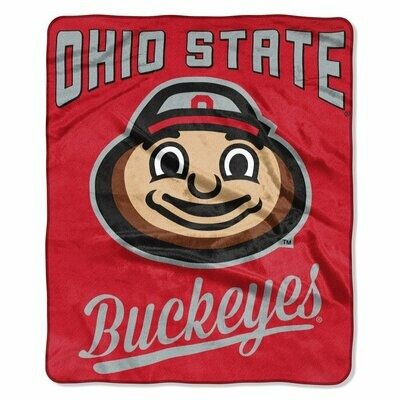 Ohio State Buckeyes Brutus Blanket