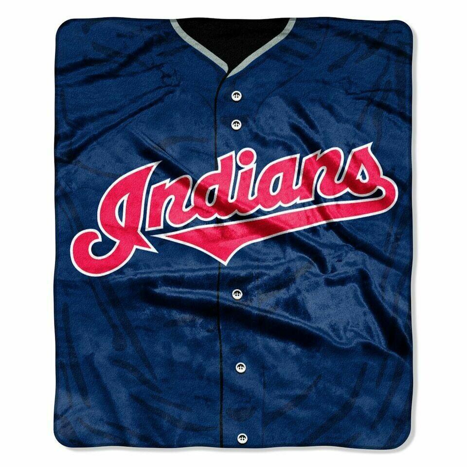 Cleveland Indians Jersey Blanket