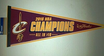 Cleveland Cavaliers Championship Pennant
