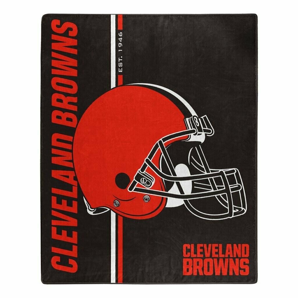 Cleveland Browns Helmet Blanket
