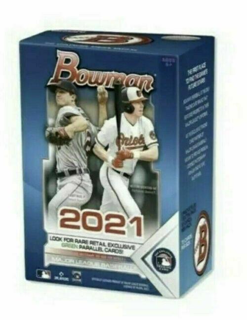 2021 Bowman Baseball Blaster