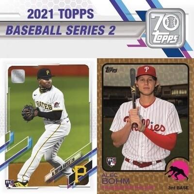 2021 Topps Series 2 Hobby Box