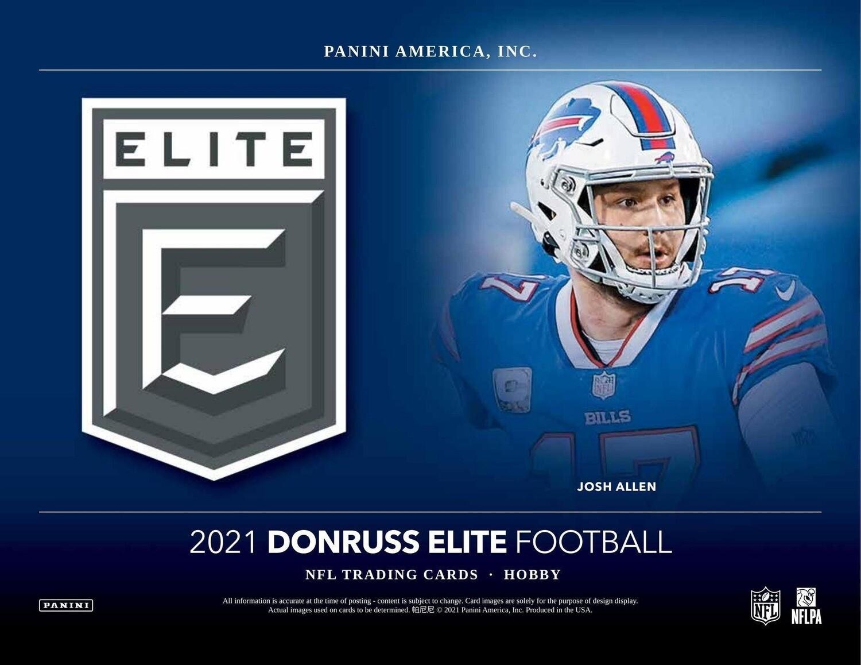 2021 Donruss Elite NFL Hobby Box