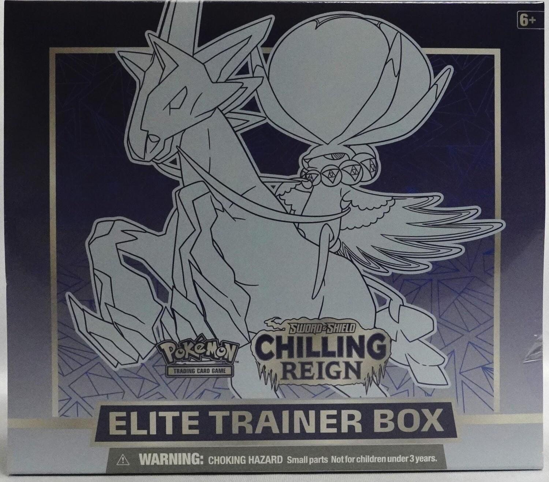 Pokemon Chilling Reign Elite Trainer Box