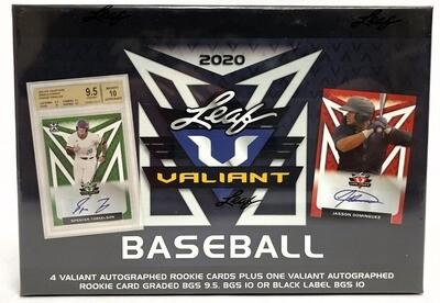 2020 Leaf Valiant Baseball
