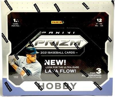2021 Panini Prizm Baseball Box