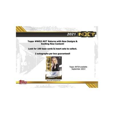 2021 Topps WWE NXT Hobby Box