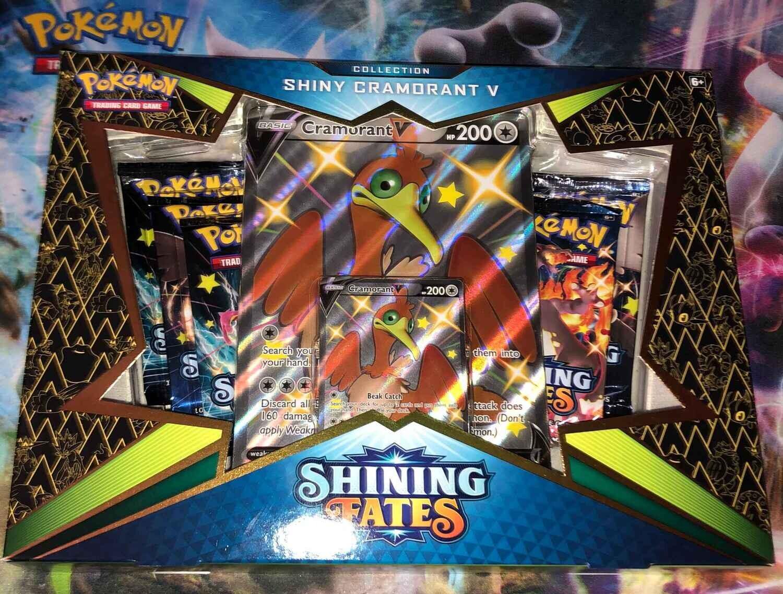 Pokemon Shiny Cramorant V Box