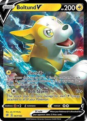 Pokemon Shiny Boltund V Box