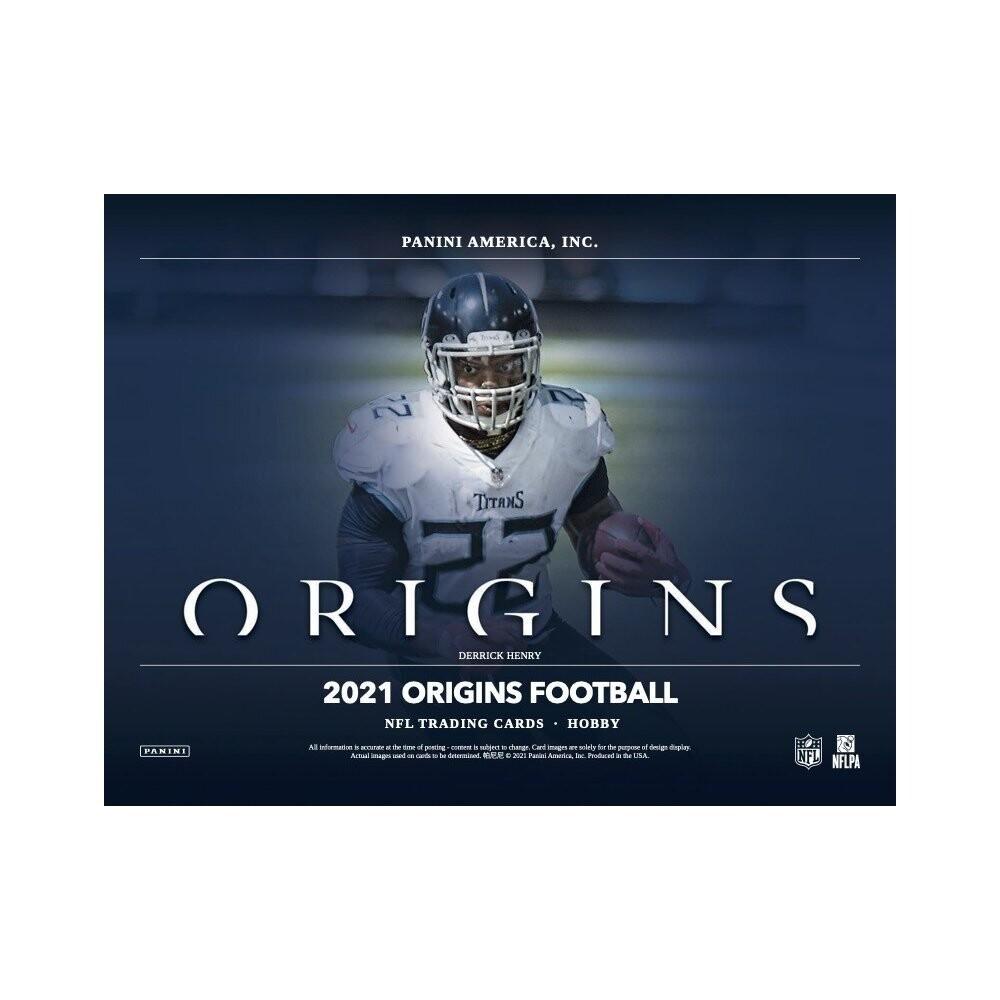 2021 Panini Origins Football Hobby Box