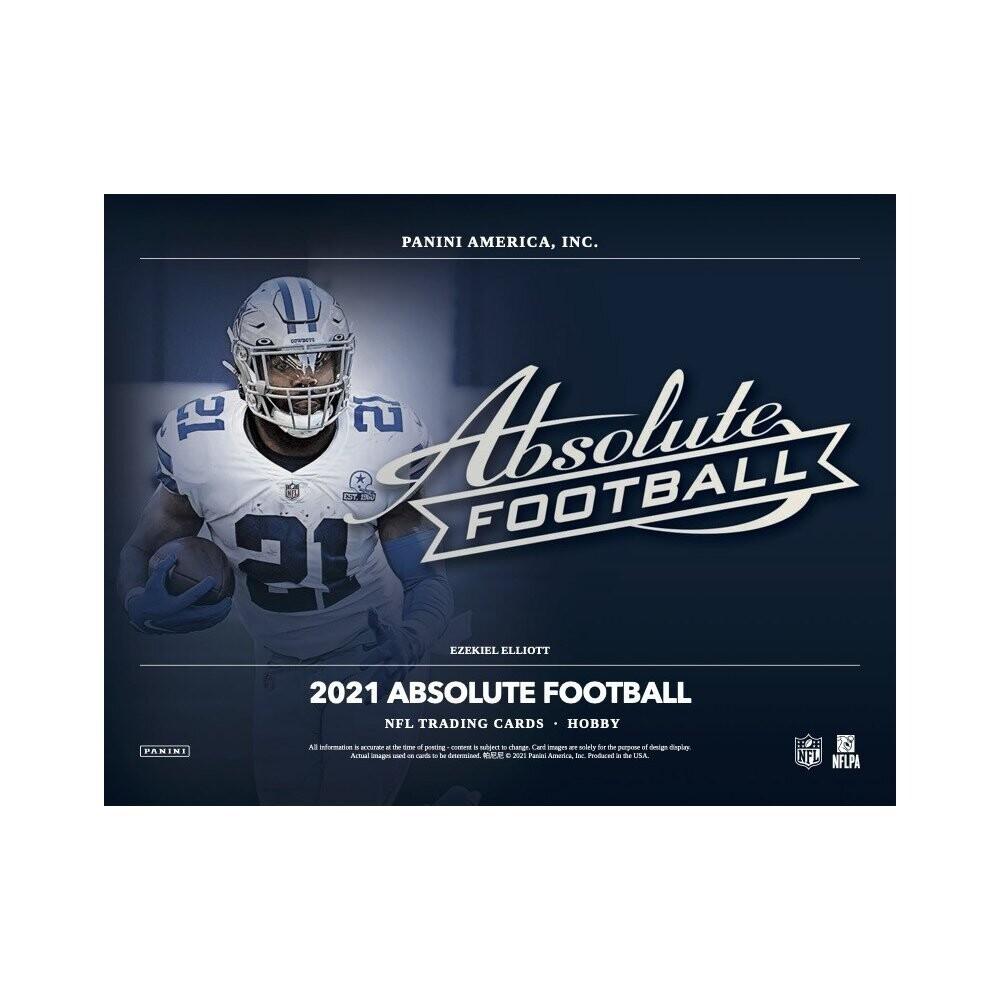 2021 Panini Absolute Football Box