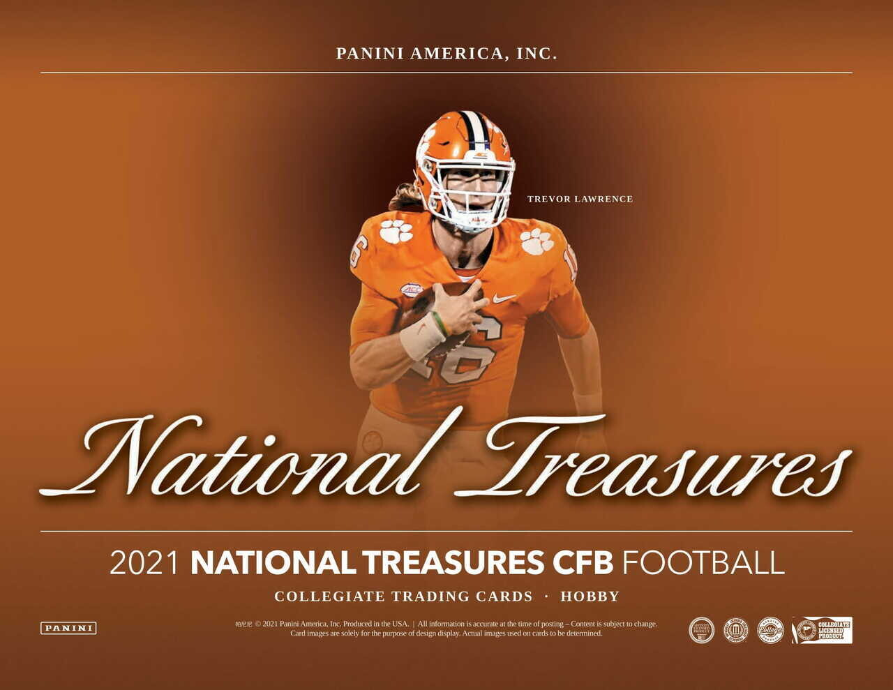 2021 National Treasures College Football Box