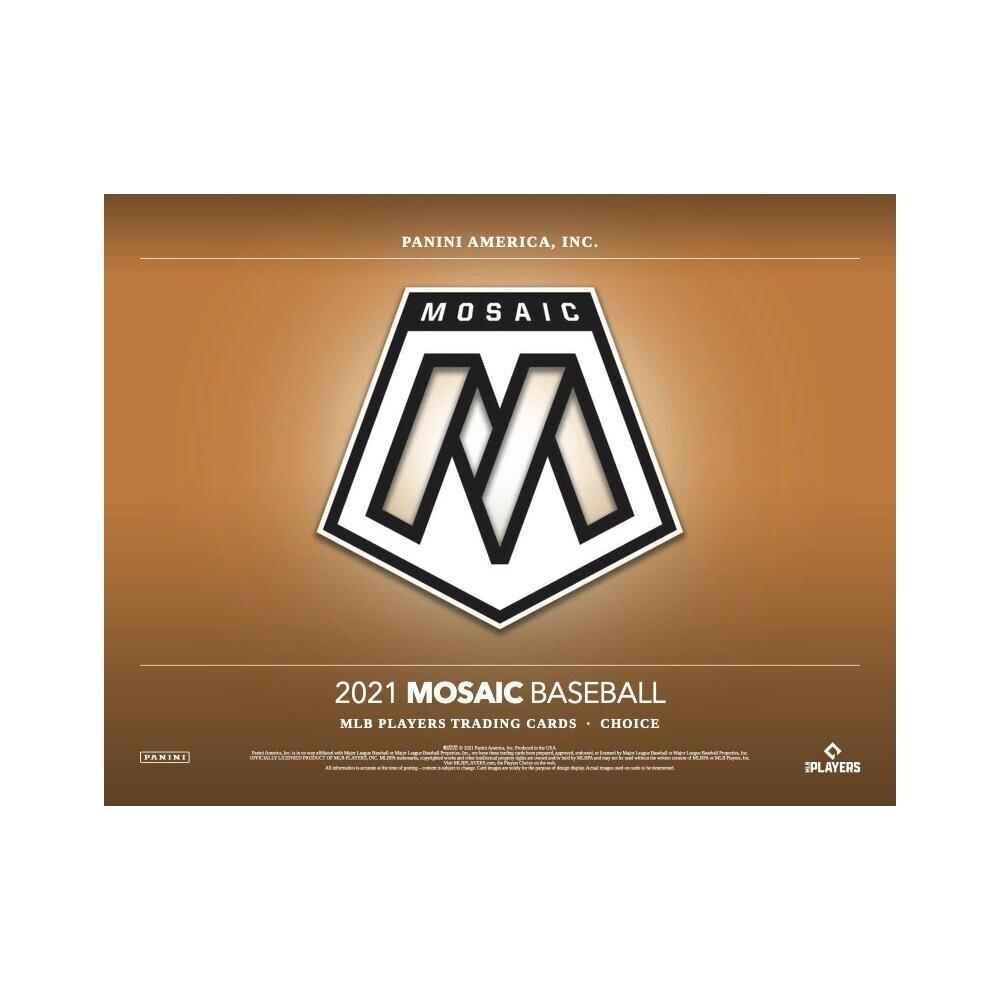 2021 Panini Mosaic Baseball Box