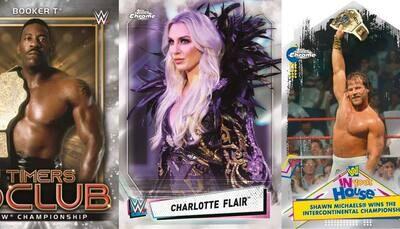 2021 Topps WWE Chrome Box