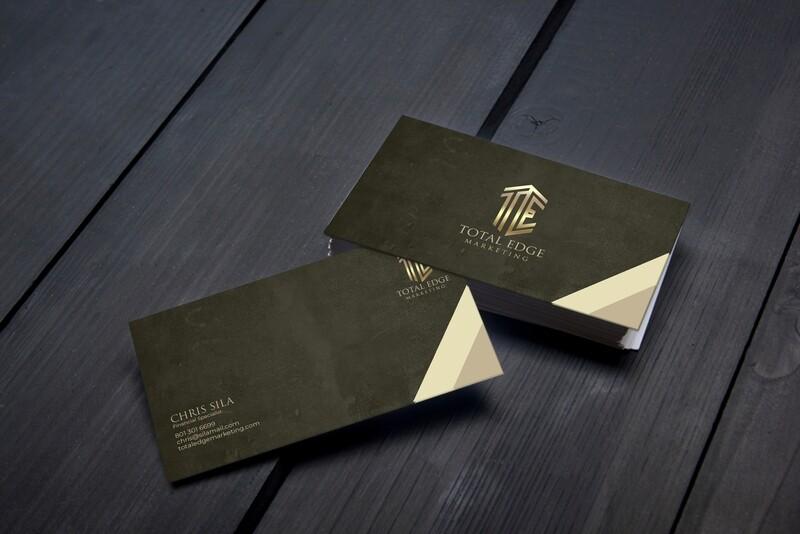 200 Custom Business Cards - Design Plug Studio