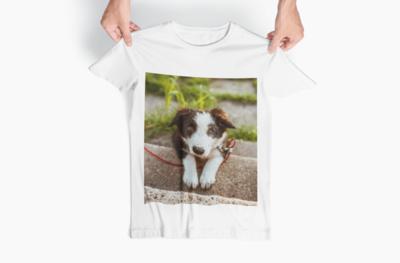 T-shirt Sol's με φωτογραφία