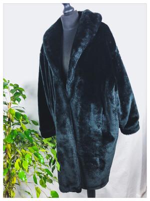 80's Faux Fur Coat