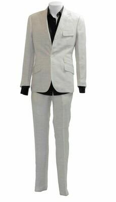 Off-white 'Carnaby' Linen Trouser