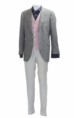 'Bassano' Linen and Silk Jacket