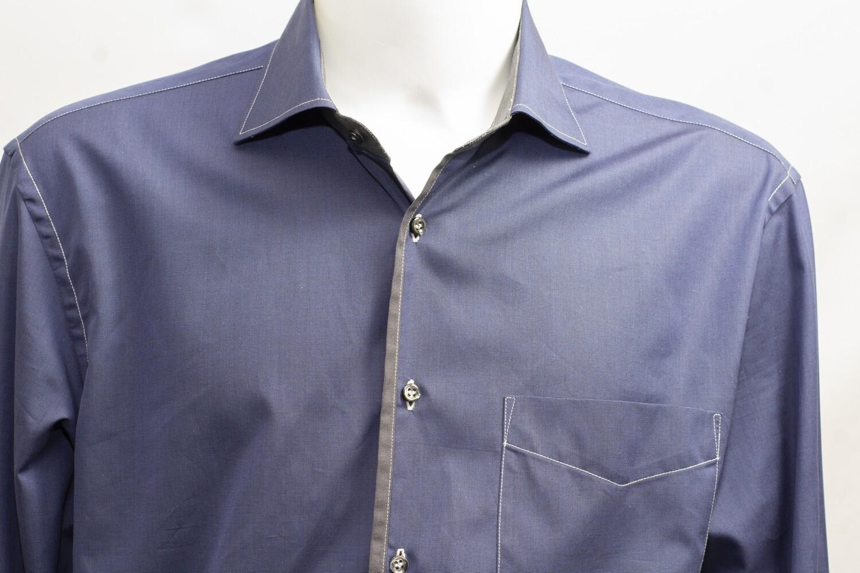 Navy 'Stefano' Shirt