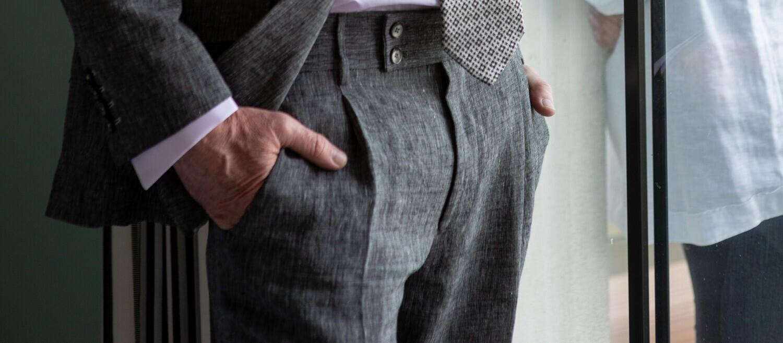 'Venezia' Linen Trouser