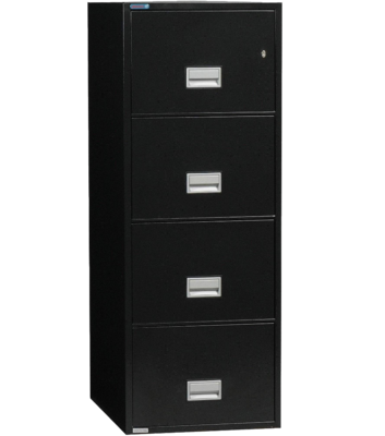 Phoenix Safe 4-Drawer Vertical Filing Cabinet
