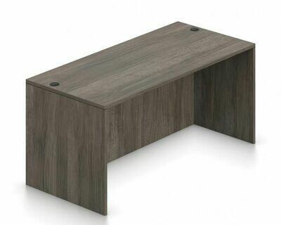 """66"""" Rectangular Desk Shell"""