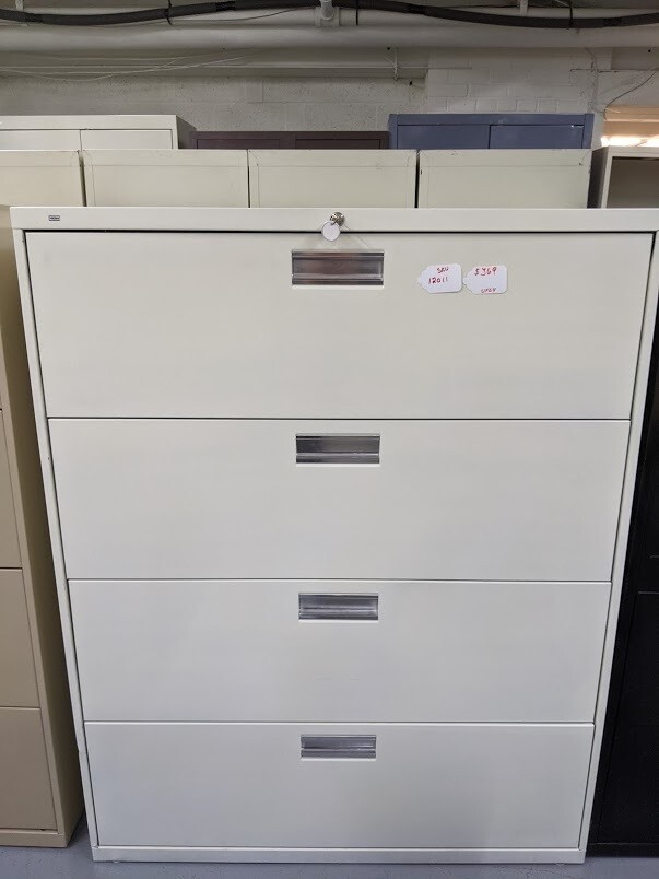 HON 4-Drawer Lateral Filing Cabinet