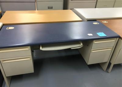 Standard Desk with Keyboard Tray