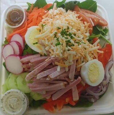 Chef Salad / your choice of two dressings