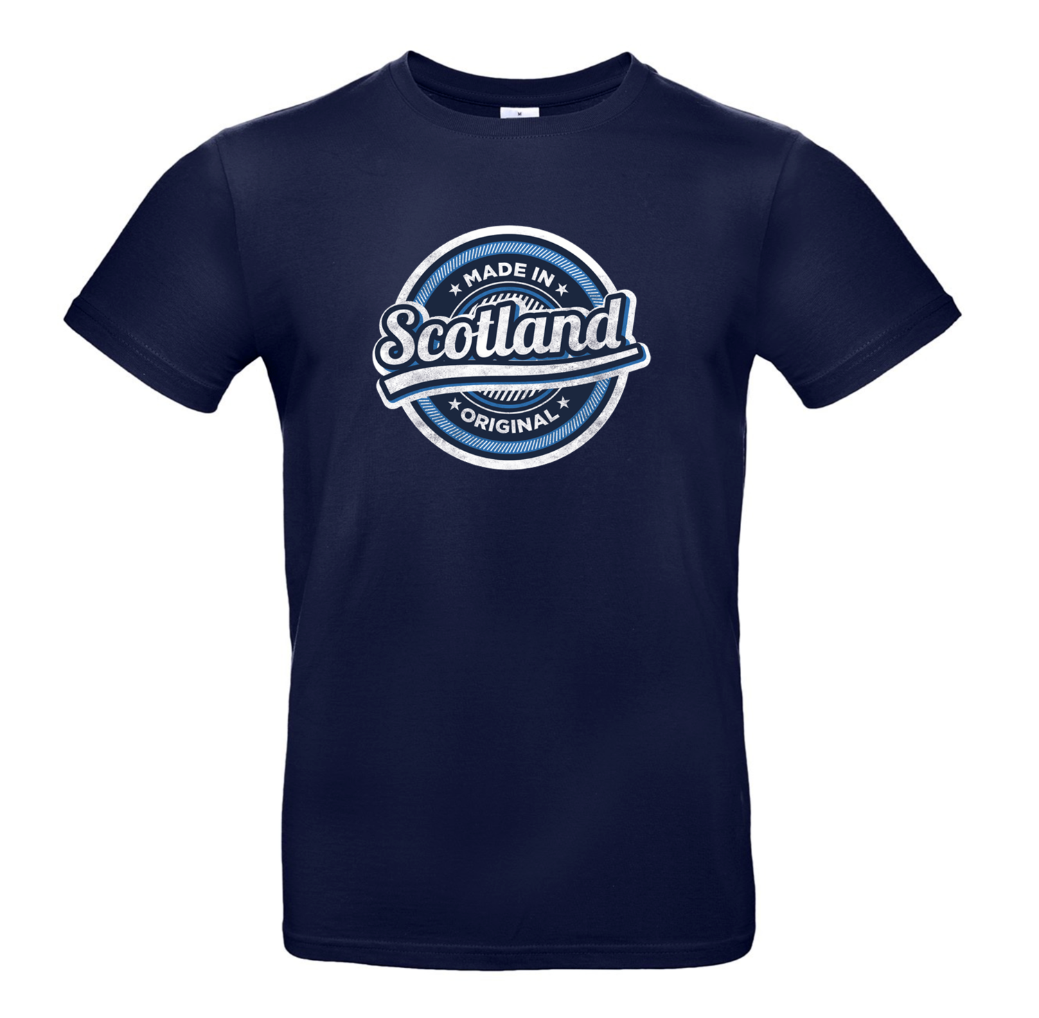 Made in Scotland – blue graphic