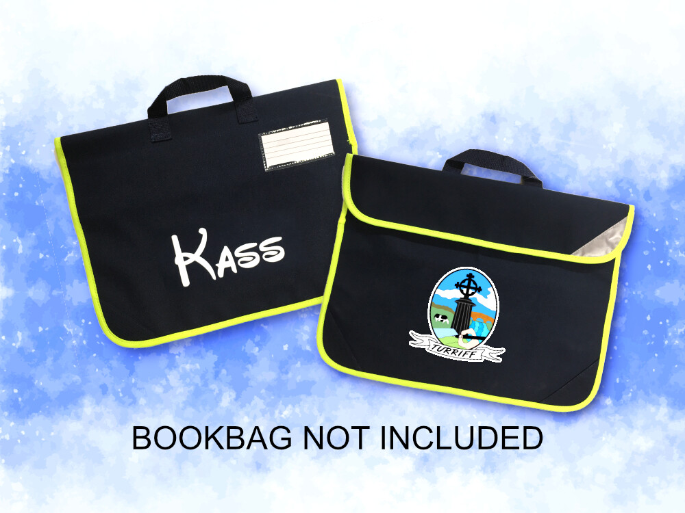 Personalise your own Turriff Primary bookbag