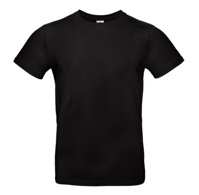 Plain T-shirt (male) in various colours