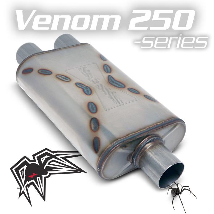 "Black Widow BWSDV2-33, Venom 250 Single 3""/Dual 3"" For Ram Trucks, Toyota Tundra"