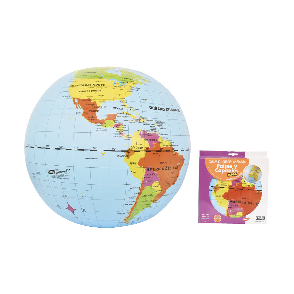 Globo Inflable Paises y Capitales