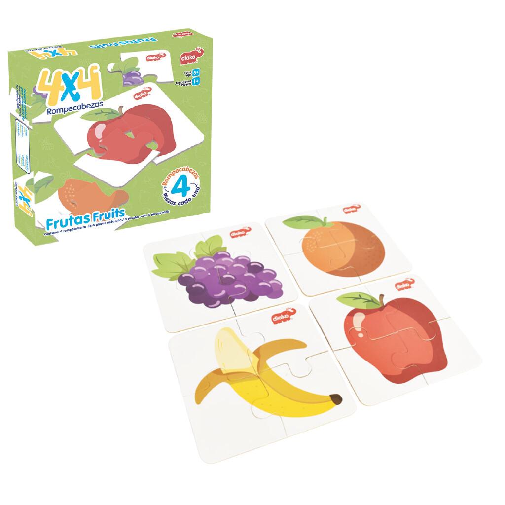 4x4 Frutas