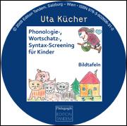 Phonologie-, Wortschatz- und Syntax-Screening für Kinder - 28 farbige Bildkarten auf CD-Rom