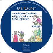 Sprachspiele für Kinder - 29 farbige Bildkarten auf CD-Rom