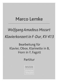 W.A. Mozart - Klavierkonzert in F-Dur, KV 413