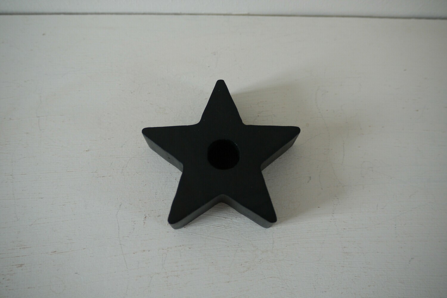 Spell Candle Holder Black Star
