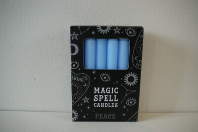 Spell Candles Light Blue (Peace)