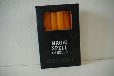 Spell Candles Orange (Confidence)