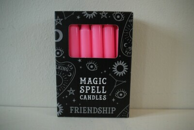 Spell Candles Pink (Friendship)