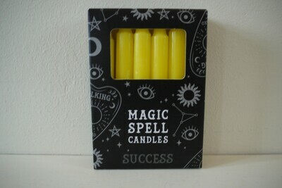 Spell Candles Yellow (Success)
