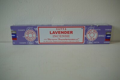 Satya Lavender Incense Sticks