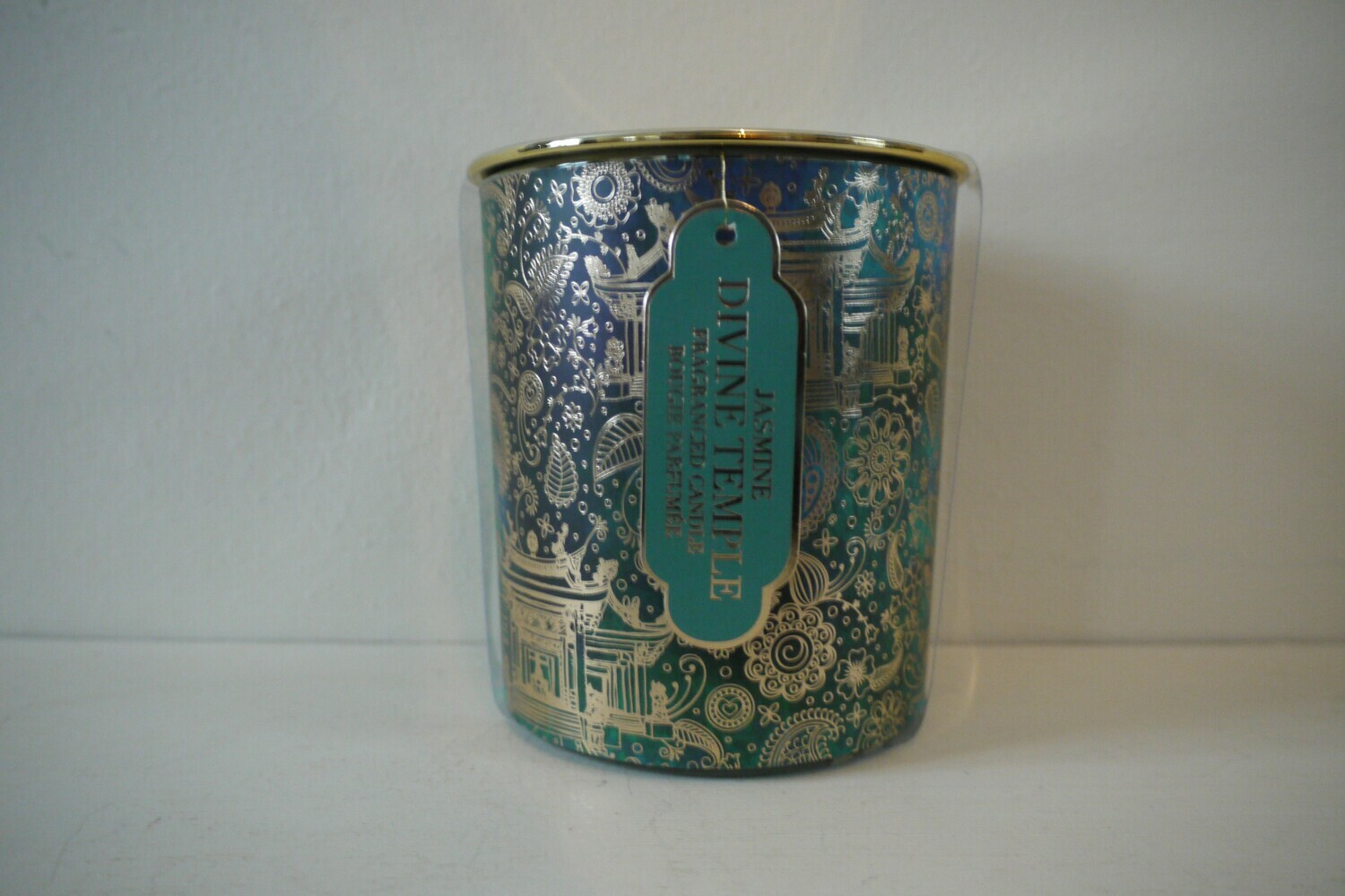 Devine Temple Large Lidded Candle with Jasmine