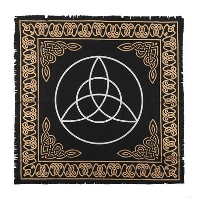 65x65cm Triquetra Altar Cloth