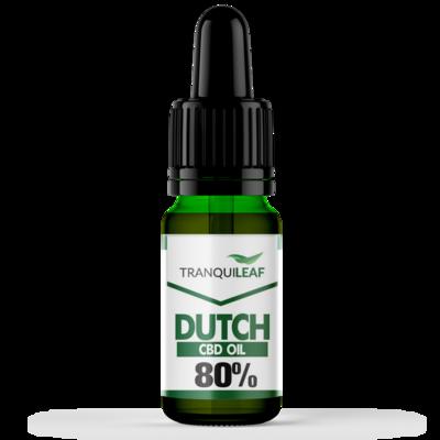 DUTCH 80% ORAL OIL 10ML