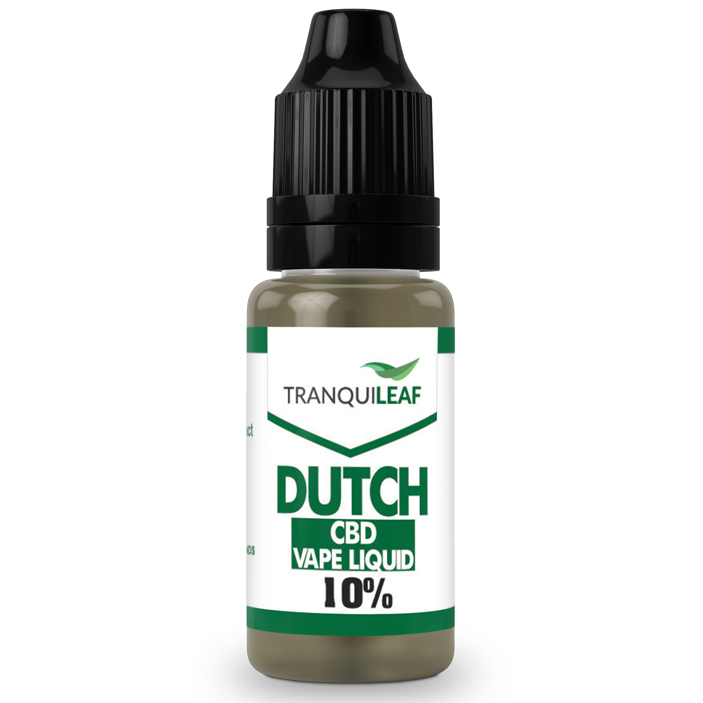DUTCH CBD VAPE LIQUID 10%
